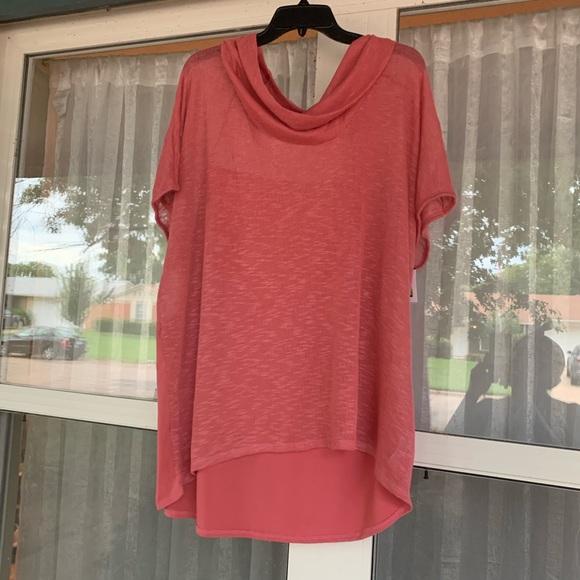 Xhilaration Sweaters - Xhilaration-Turleneck short sleeve knit top